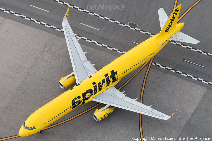 Spirit Airlines Airbus A321-231 (N663NK) | Photo 152670