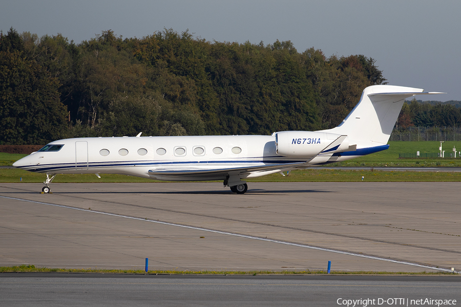 (Private) Gulfstream G650 (N673HA) | Photo 349135