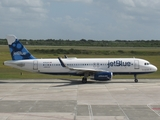 JetBlue Airways Airbus A320-232 (N715JB) at  Santo Domingo - Las Americas-JFPG International, Dominican Republic