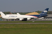 World Airways Boeing 747-4H6(BDSF) (N741WA) at  Luxembourg - Findel, Luxembourg