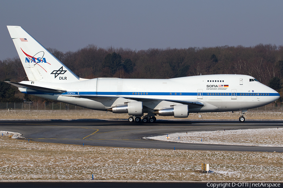 NASA / DLR Boeing 747SP-21 (N747NA) | Photo 224737