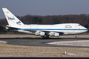 NASA / DLR Boeing 747SP-21 (N747NA) at  Hamburg - Fuhlsbuettel (Helmut Schmidt), Germany