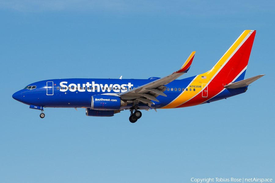 Southwest Airlines Boeing 737-7H4 (N763SW) | Photo 298384