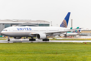 United Airlines Boeing 777-222 (N772UA) at  Dublin, Ireland