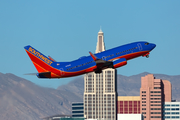 Southwest Airlines Boeing 737-7K9 (N7814B) at  Las Vegas - McCarran International, United States