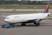 Delta Air Lines Airbus A330-323X (N808NW) at  Amsterdam - Schiphol, Netherlands