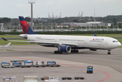 Delta Air Lines Airbus A330-323X (N821NW) at  Amsterdam - Schiphol, Netherlands
