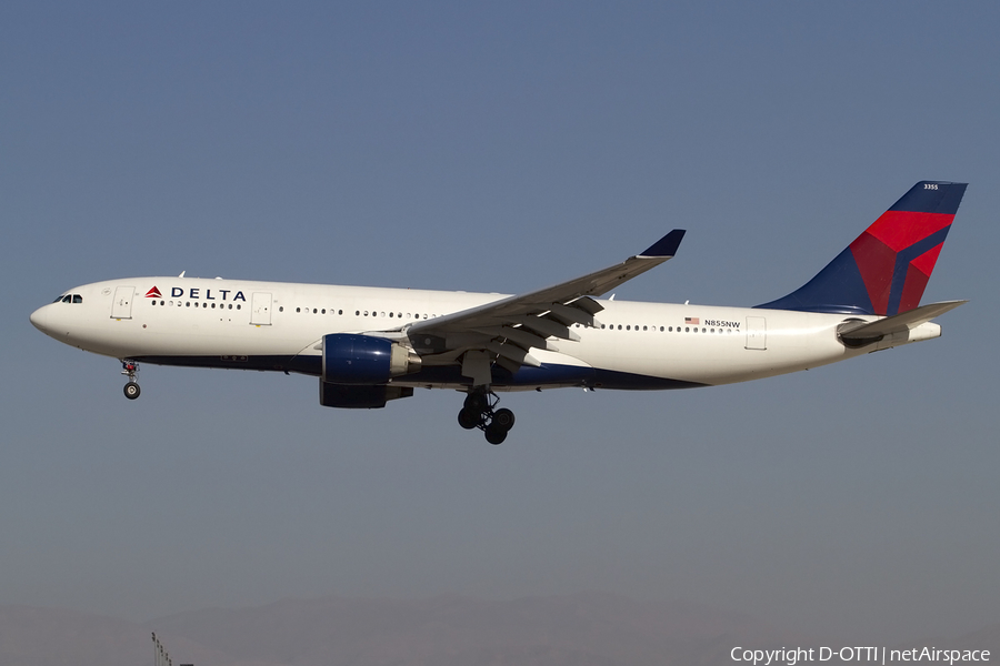 Delta Air Lines Airbus A330-223 (N855NW) | Photo 424652