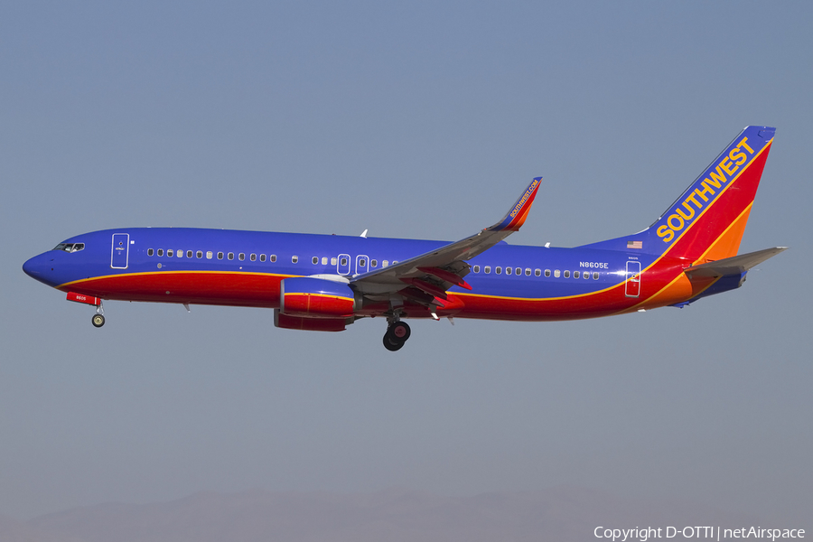 Southwest Airlines Boeing 737-8H4 (N8605E) | Photo 424654