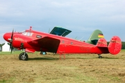 (Private) Beech D18S (N868L) at  Lubeck-Blankensee, Germany