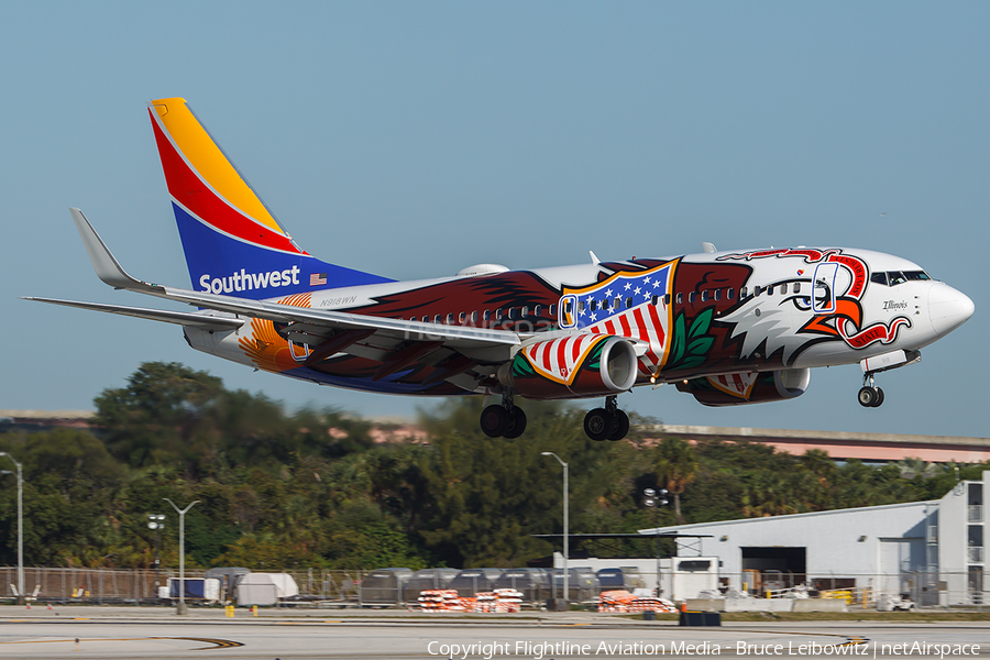 Southwest Airlines Boeing 737-7H4 (N918WN) | Photo 164213