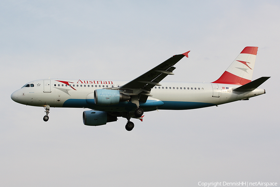 Austrian Airlines Airbus A320-214 (OE-LBU) | Photo 407274