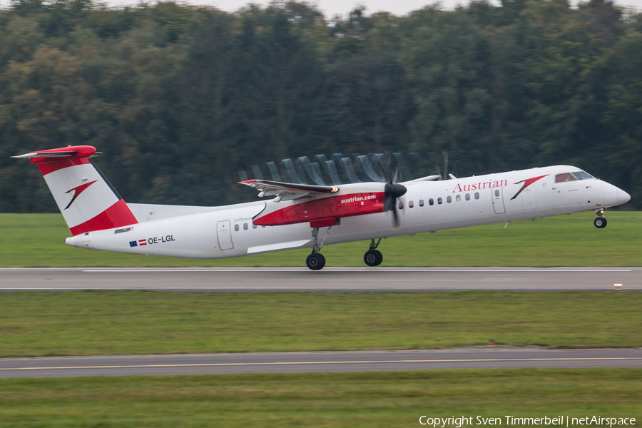 Austrian Airlines Bombardier DHC-8-402Q (OE-LGL) | Photo 404464