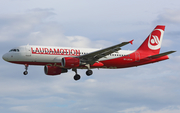 LaudaMotion Airbus A320-214 (OE-LOC) at  Barcelona - El Prat, Spain