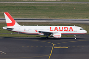 LaudaMotion Airbus A320-214 (OE-LOQ) at  Dusseldorf - International, Germany