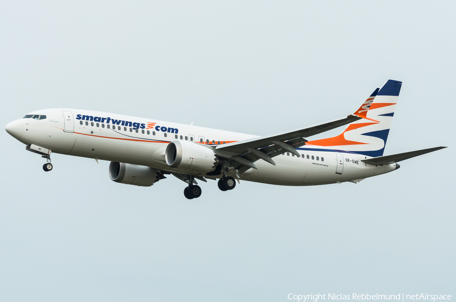 SmartWings Boeing 737 MAX 8 (OK-SWE) | Photo 292219