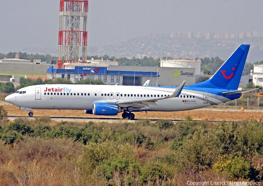 Jetairfly Boeing 737-8AS (OO-CAN) | Photo 136116