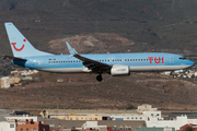 TUI Airlines Belgium Boeing 737-8K5 (OO-JAX) at  Gran Canaria, Spain