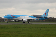 Jetairfly Embraer ERJ-190STD (ERJ-190-100STD) (OO-JVA) at  Bruges/Ostend - International, Belgium