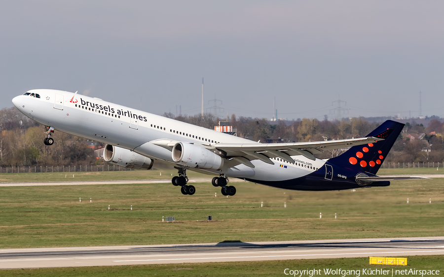 Brussels Airlines Airbus A330-343X (OO-SFG) | Photo 305621