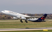 Brussels Airlines Airbus A330-343X (OO-SFG) at  Dusseldorf - International, Germany