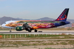 Brussels Airlines Airbus A320-214 (OO-SNF) at  Barcelona - El Prat, Spain