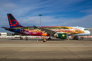Brussels Airlines Airbus A320-214 (OO-SNF) at  Brussels - International, Belgium