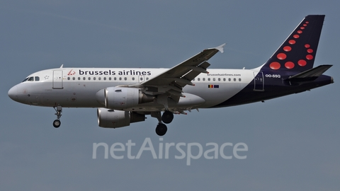Brussels Airlines Airbus A319-112 (OO-SSQ) at  Brussels - International, Belgium