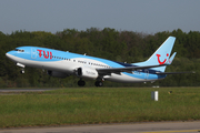 TUI Airlines Belgium Boeing 737-86J (OO-TUV) at  Nantes/Bougenais - Atlantique, France