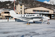 (Private) Beech King Air B200GT (OY-GEF) at  Samedan - St. Moritz, Switzerland