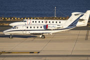 North Flying Cessna 650 Citation III (OY-JPJ) at  Gran Canaria, Spain