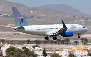 Jet Time Boeing 737-79L (OY-JTP) at  Gran Canaria, Spain