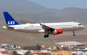 SAS - Scandinavian Airlines Airbus A320-232 (OY-KAR) at  Gran Canaria, Spain