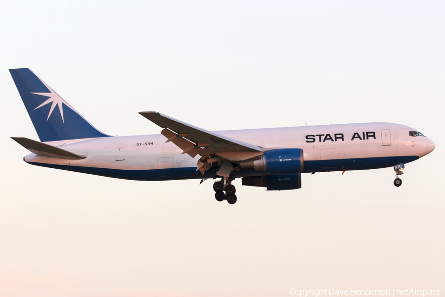 Star Air / Maersk Air Boeing 767-25E(BDSF) (OY-SRM) | Photo 151299