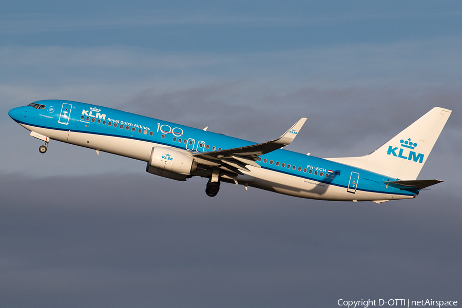 KLM - Royal Dutch Airlines Boeing 737-8K2 (PH-BCH) | Photo 367851