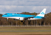 KLM Cityhopper Embraer ERJ-175STD (ERJ-170-200STD) (PH-EXX) at  Billund, Denmark