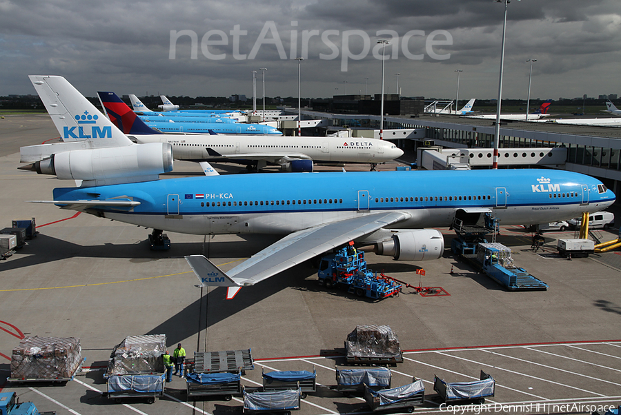 KLM - Royal Dutch Airlines McDonnell Douglas MD-11 (PH-KCA) | Photo 11119