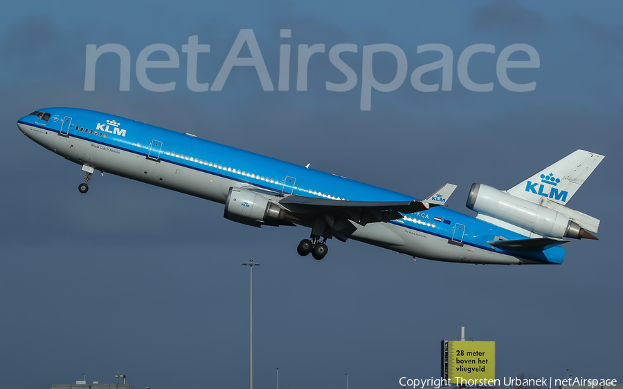 KLM - Royal Dutch Airlines McDonnell Douglas MD-11 (PH-KCA) | Photo 427238