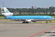 KLM - Royal Dutch Airlines McDonnell Douglas MD-11 (PH-KCB) at  Amsterdam - Schiphol, Netherlands