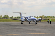 Balai Besar Kalibrasi Penerbangan Beech King Air B200GT (PK-CAN) at  Syamsudin Noor International, Indonesia