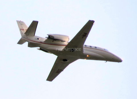 (Private) Cessna 560XL Citation XLS (PR-CON) at  In Flight - São Roque, Brazil
