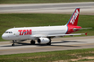 TAM Brazilian Airlines Airbus A320-232 (PT-MZU) at  Sao Paulo - Guarulhos - Andre Franco Montoro (Cumbica), Brazil