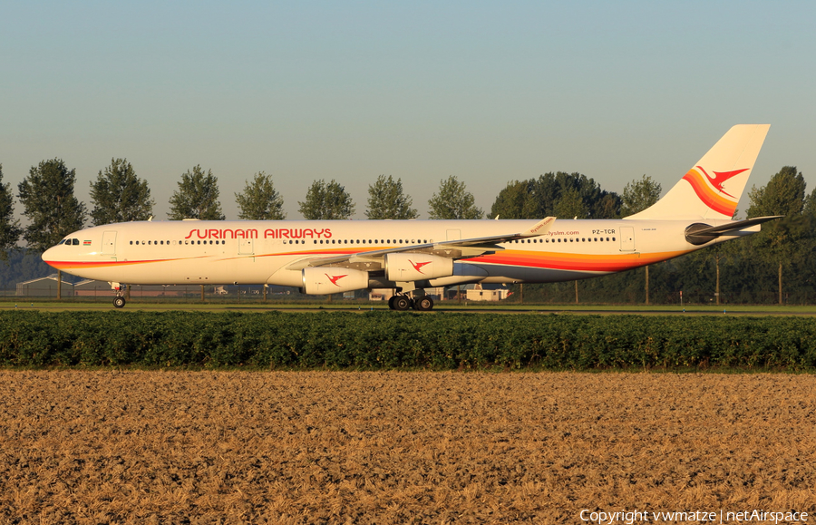 Surinam Airways Airbus A340-313 (PZ-TCR) | Photo 120526