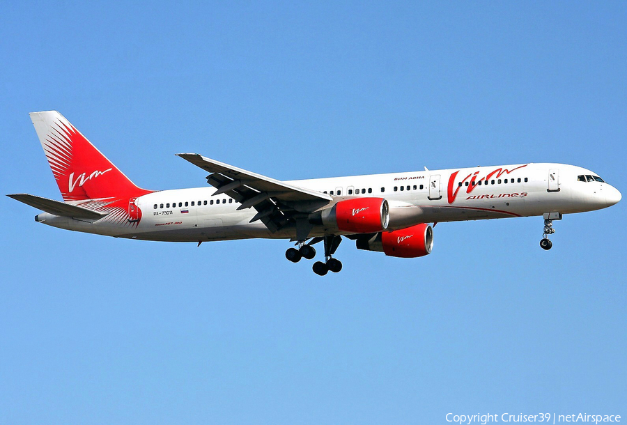 VIM Airlines Boeing 757-230 (RA-73011) | Photo 75167