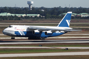 Polet Airlines Antonov An-124-100 Ruslan (RA-82077) at  Houston - George Bush Intercontinental, United States