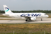 Adria Airways Airbus A319-111 (S5-AAX) at  Frankfurt am Main, Germany
