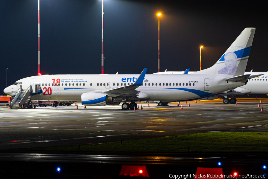 Enter Air Boeing 737-8Q8 (SP-ENX) | Photo 367972