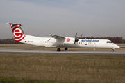 EuroLOT Bombardier DHC-8-402Q (SP-EQA) at  Frankfurt am Main, Germany