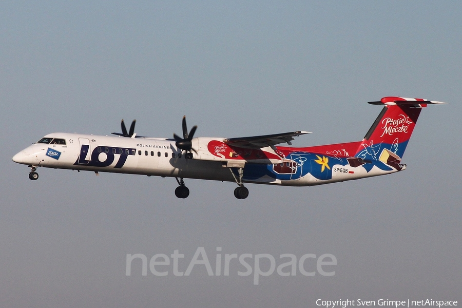 LOT Polish Airlines Bombardier DHC-8-402Q (SP-EQB) | Photo 217931