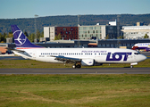 LOT Polish Airlines Boeing 737-45D (SP-LLE) at  Oslo - Gardermoen, Norway